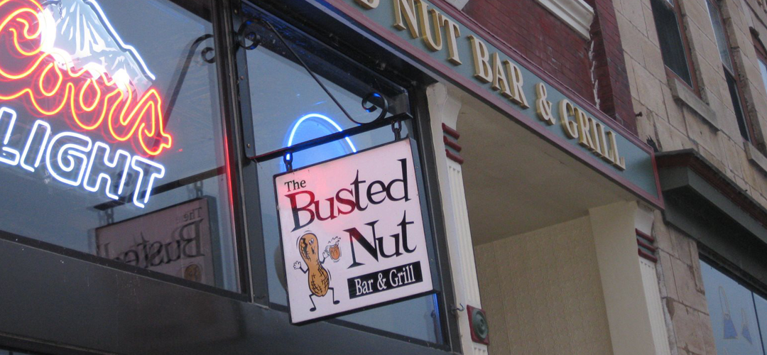 Welcome to <br>The Busted Nut